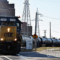 Csx Train by Ronald Grogan
