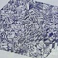 Cubed Butterflies by Annette Jimerson