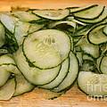 Cucumbers by Henrik Lehnerer