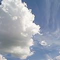 Cumulus Clouds by Peter Scoones