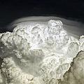 Cumulus Congestus Cloud With Pileus by Luis Argerich
