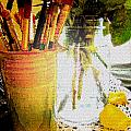 Cup O Brushes by Debbie Portwood