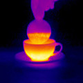 Cup Of Tea, Thermogram by Tony Mcconnell