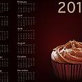Cupcake Calendar 2013 by Jane Rix