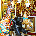 Curious Carousel Beasts by Diana Haronis