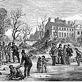 Curling, 1853 by Granger