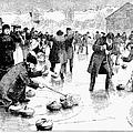 Curling, 1884 by Granger