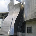 Curves Of The Guggenheim by Angela  Rose