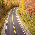 Curvy Road Blue Ridge Parkway, North Carolina by Lightvision, LLC