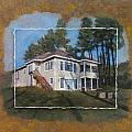 Custom Home 1 Layered by Anita Burgermeister