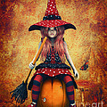Cutest Little Witch by Jutta Maria Pusl