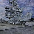 Cvn 65 Uss Enterprise by Sarah Howland-Ludwig