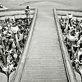 Cycle Of Rebirth At Wat Rong Khun In Thailand by Shaun Higson