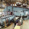 Cyclotron Particle Accelerator by Ria Novosti