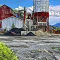 D And Rg Rail Yard In Salida Co by Charles Muhle