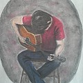 Dad And His Guitar by Tammy Kiser
