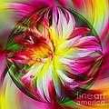 Dahlia Flower Energy by Smilin Eyes  Treasures