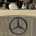 Daimler-benz A-g Hood Emblem by Jill Reger