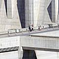 Dam Tourists by Ricky Barnard