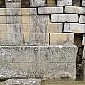 Damaged Wall, Machu Picchu, Peru by Matthew Oldfield