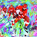 Dan Cleary And 5 by Donald Pavlica