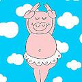 Dancer Pig  by Roberta Follese