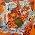 Dancers IIi by Anina von Wachtel Diani Beach Art Gallery