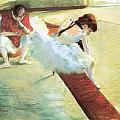 Dancers Resting by Edgar Degas