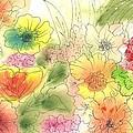 Dancing Flowers by Christine Crawford