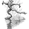 Dancing In The Rain, Conceptual Artwork by Bill Sanderson