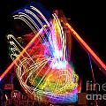 Dancing Lights  Magical Light Trails by David  Hollingworth
