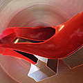 Dancing Red Shoe  by Colette V Hera  Guggenheim