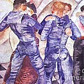 Dancing Sailors by Pg Reproductions