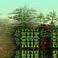 Dancing Trees On Alien Cliffs by Richard Ortolano