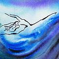 Dancing Water IIi by Irina Sztukowski