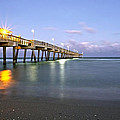 Dania Beach Pier by Glennis Siverson