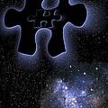 Dark Matter, Conceptual Artwork by Victor De Schwanberg
