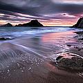 Dark Sunrise On Hidden Bay by Danyssphoto