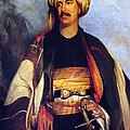 David Roberts In Arabian Dress by Munir Alawi