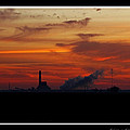 Dawn At The Power Plant by Debbie Portwood