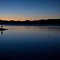 dawn at Yellowstone Lake by Ralf Kaiser