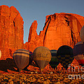 Dawn Flight In Monument Valley by Vivian Christopher