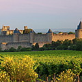 Dawn In Carcassonne by Brian Jannsen