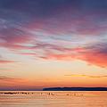 Dawn Sleeping Bear Bay by Dean Pennala