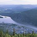 Dawson City And The Yukon River by Rich Reid