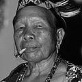 Dayak Woman by Bruce J Robinson