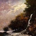 Daybreak Falls by Jim Gola