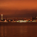 Daybreak Ferry by Michael Merry