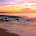 Daybreak Seascape by Roupen  Baker