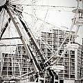 Daytona Beach Ferris Wheel by Eye Shutter To Think